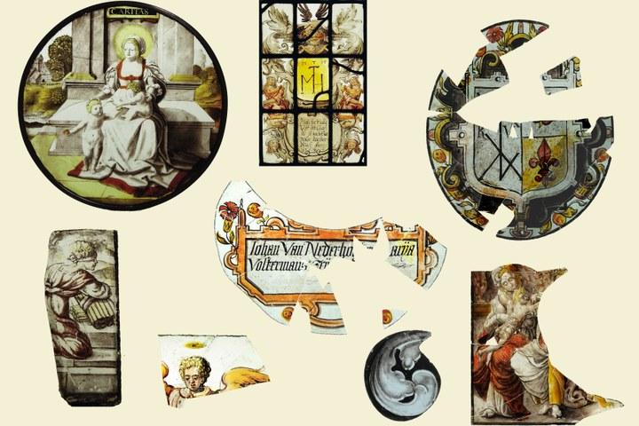 Een schat aan scherven - Glasschilderkunst in Roermond tot 1600