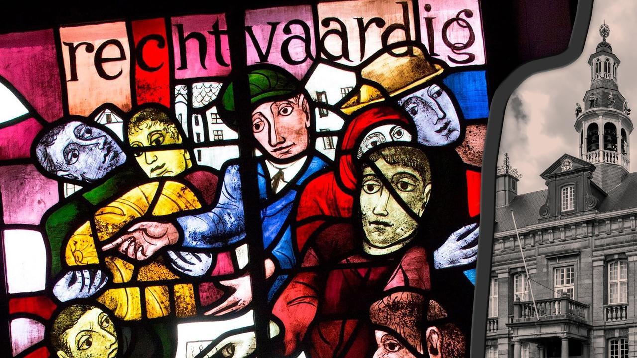 stedelijk historisch museum gebrandschilderd glas roermond
