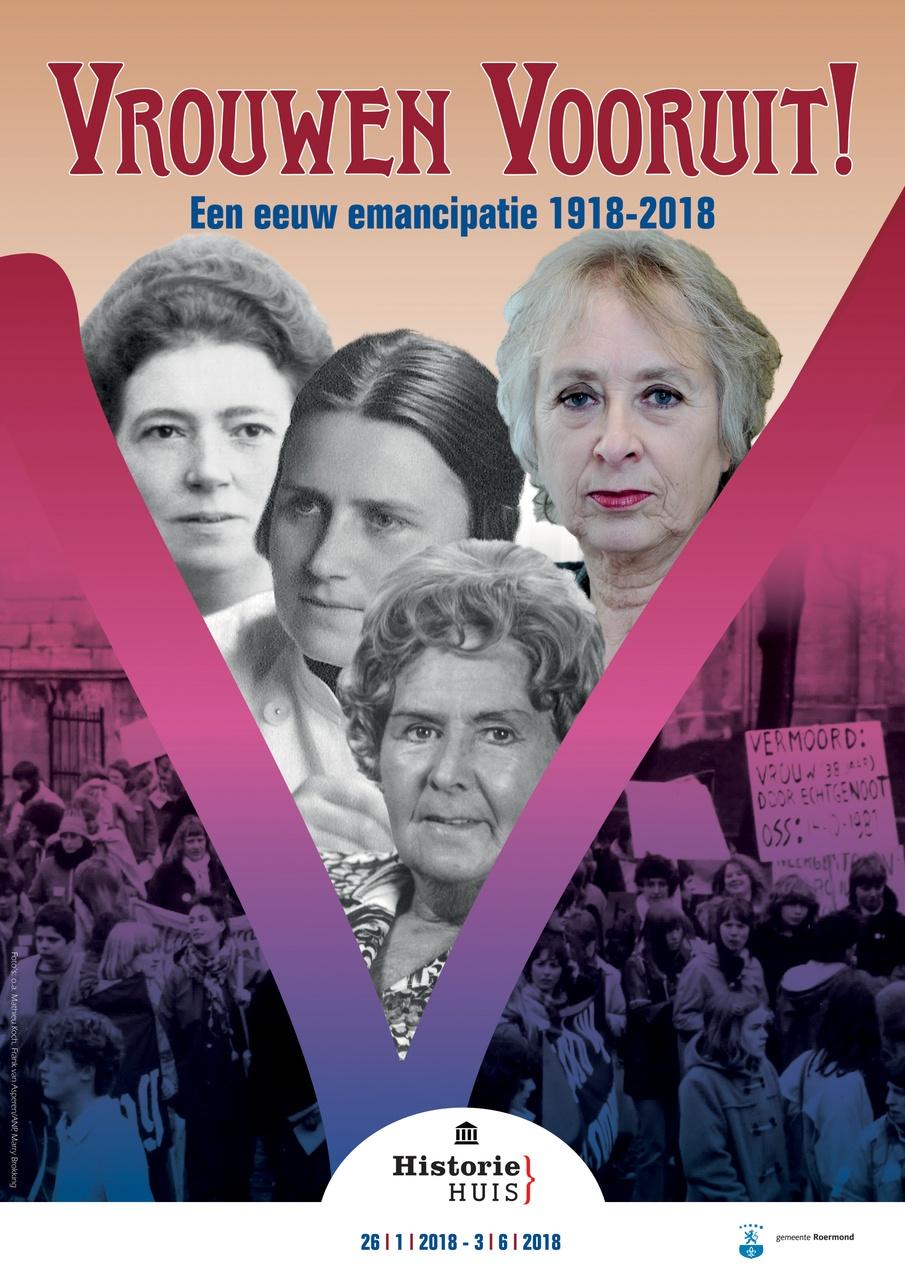 stedelijk historisch museum roermond poster emancipatie vrouwenkiesrecht feminisme vrouwenbeweging